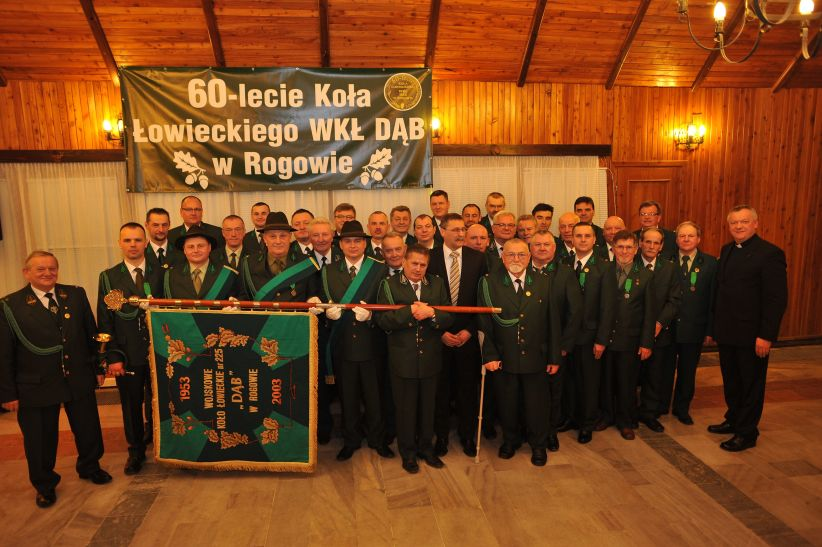 Członkowie Koła Dąb Rogowo